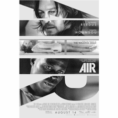 "Air Black and White Poster 24""x36"""