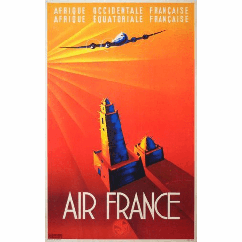 Air France Mini poster 11inx17in