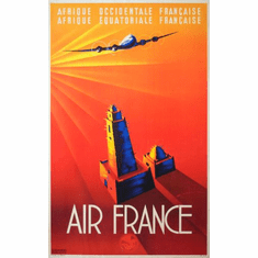Air France Poster 24in x36in