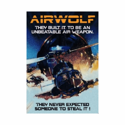 Airwolf 8x10 photo master print