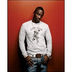 Akon Poster 24in x36 in