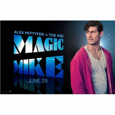 Alex Pettyfer Magic Mike Mini Movie Poster 11inx17in