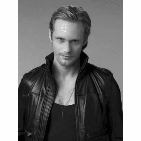 "Alexander Skarsgard Eric True Blood Black and White Poster 24""x36"""