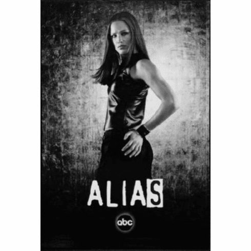 "Alias Black and White Poster 24""x36"""