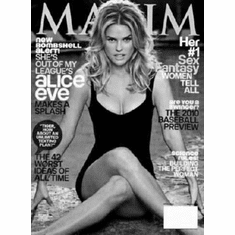 """Alice Eve Black and White Poster 24""""x36"""""""