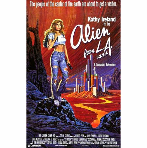 Alien From La 11x17 Mini Poster #01