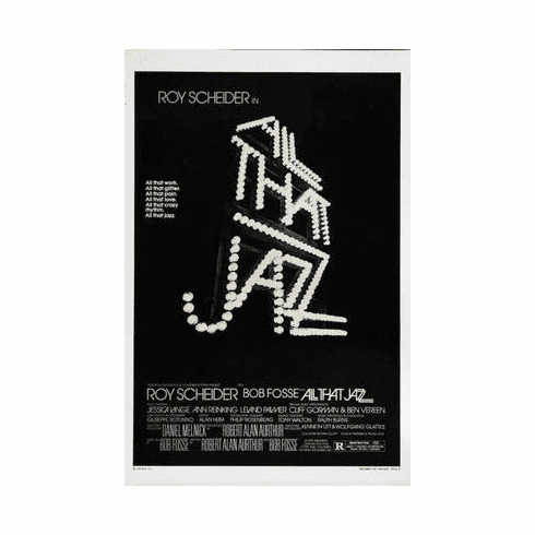 All That Jazz Movie Poster 24in x36 in