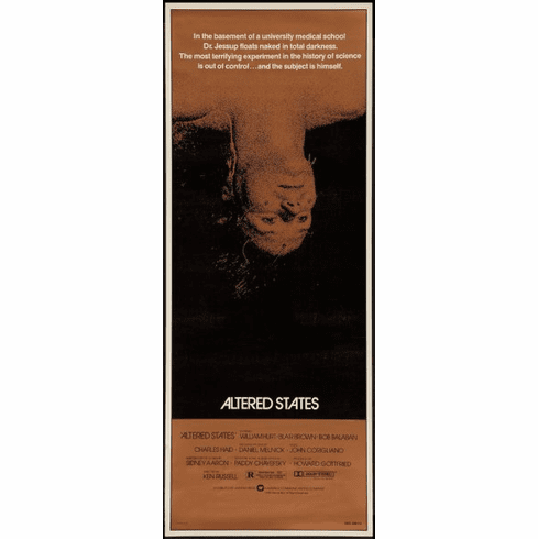 Altered States 14x36 Insert Movie Poster