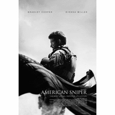 "American Sniper Black and White Poster 24""x36"""