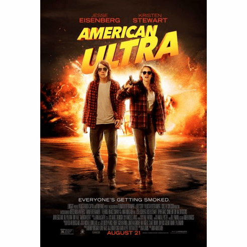 American Ultra Movie Poster 24in x36in