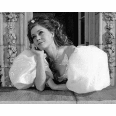 "Amy Adams Black and White Poster 24""x36"""