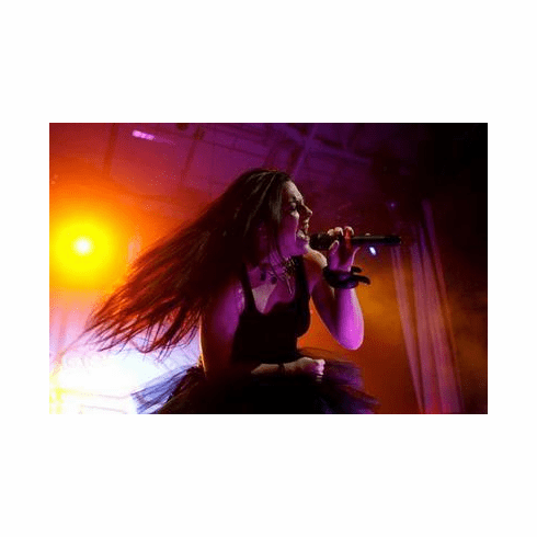 Amy Lee Poster Singing 24in x36 in