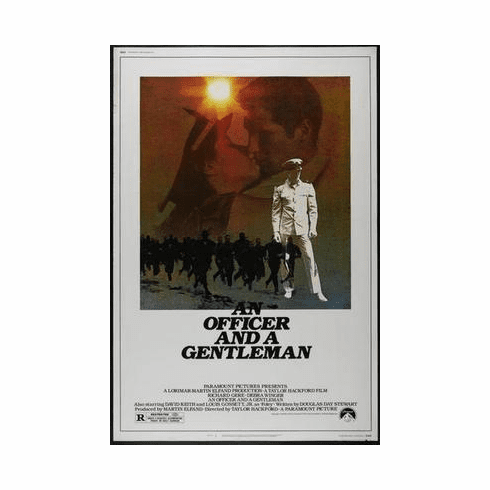 An Officer And A Gentleman Movie Poster 24in x36 in