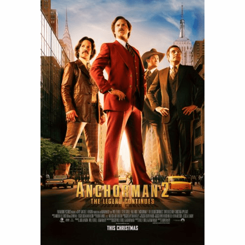 Anchorman Movie Poster 24inx36in Poster