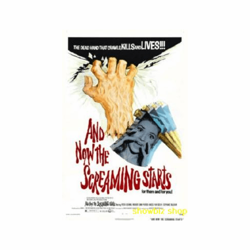 And Now The Screaming Starts Movie Poster 11x17 Mini Poster