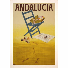 Andalusia Mini poster 11inx17in