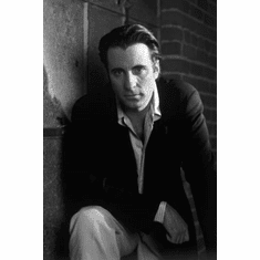 "Andy Garcia Black and White Poster 24""x36"""