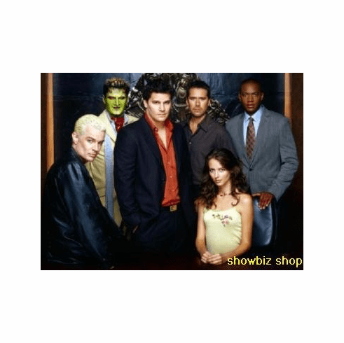 Angel Cast Portrait Boreanaz Marsters 8x10 photo Master Print