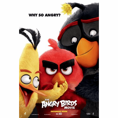 Angry Birds Poster 24x36