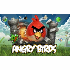 Angry Birds Poster 24x36 Video Game logo art #A