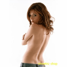 Anna Friel Poster Topless Back 24inx36in