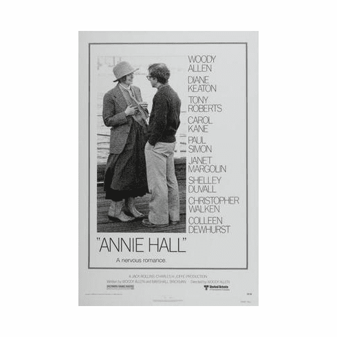 Annie Hall Movie Poster 24in x36 in