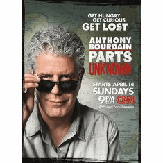 Anthony Bourdain Parts Unknown 8x10 Print Photo