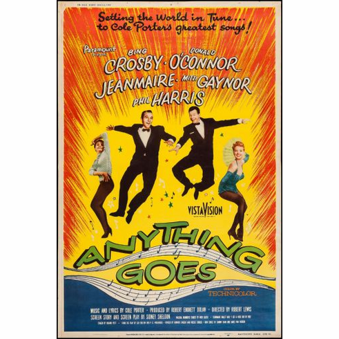Anything Goes Movie poster 24inx36in Poster