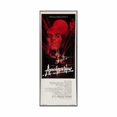 Apocalypse Now Movie Poster Insert 14x36 #01