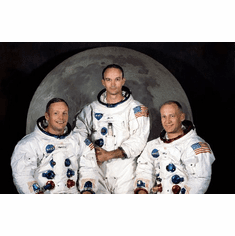 Apollo 11 Crew 11inx17in Mini Art Poster