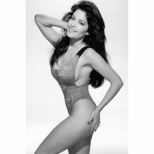 "Apollonia Kotero Black and White Poster 24""x36"""