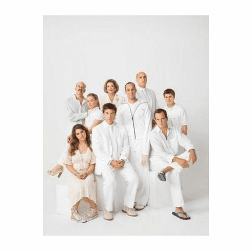 Arrested Development Poster White 11x17 Mini Poster