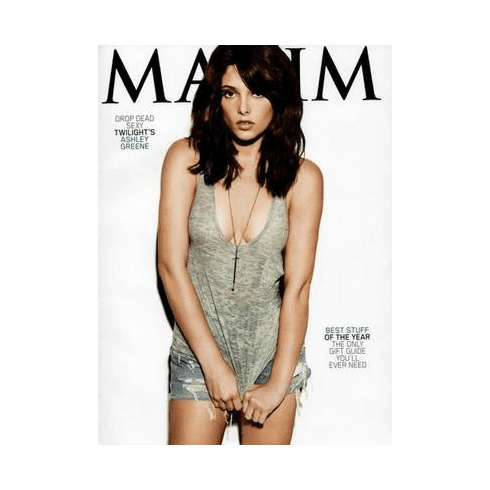 Ashley Greene Poster Maxim Cover 24in x36 in