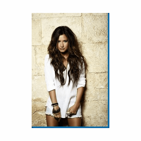 Ashley Tisdale Long White Shirt Poster 24inx36in