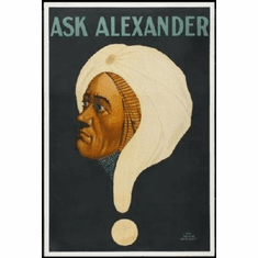 Ask Alexander Mini #01 Magic 8x10 photo Master Print