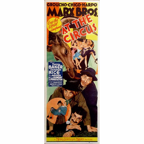 At The Circus 14inx36in Insert Movie Poster