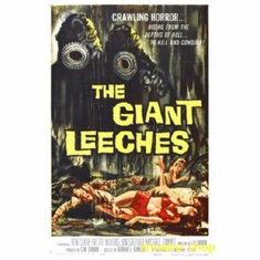 Attack Of The Giant Leeches Movie 8x10 photo Master Print