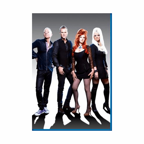 B52S Group Shot Poster 24inx36in