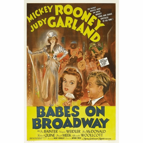 Babes On Broadway Movie Poster 24Inx36In Poster