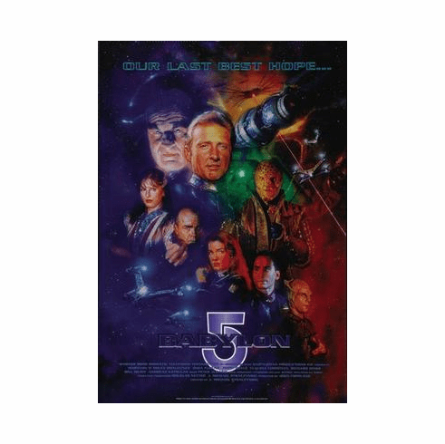 Babylon 5 Poster Last Best Hope 24in x36 in