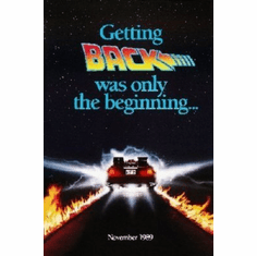 Back To The Future 2 Mini Movie Poster 11x17