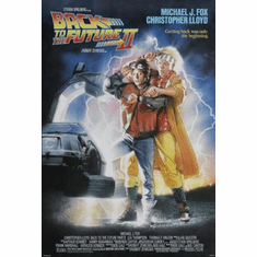 Back To The Future 2 Movie Poster 11x17 Mini Poster