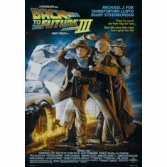 Back To The Future 3 Movie Poster 11x17 Mini Poster