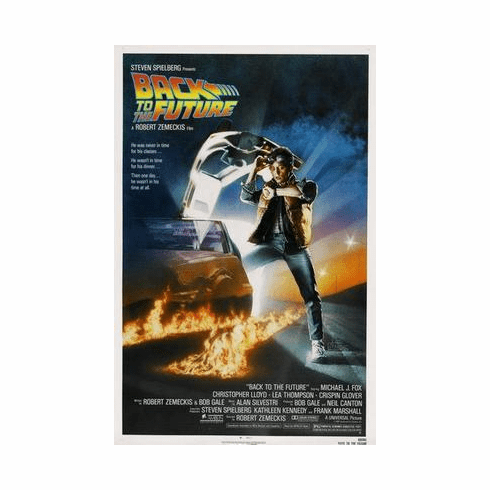 Back To The Future Movie Poster 24in x36 in