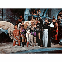 Barbarella Group Photo 11x17 Mini Poster
