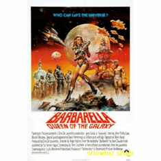 Barbarella Movie Poster 11x17 Mini Poster