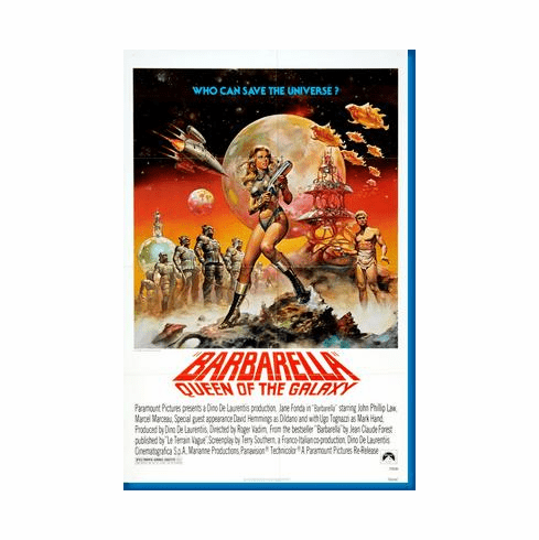 Barbarella Movie Poster 24inx36in
