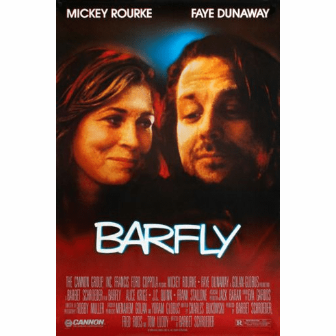 Barfly Movie poster 24inx36in Poster