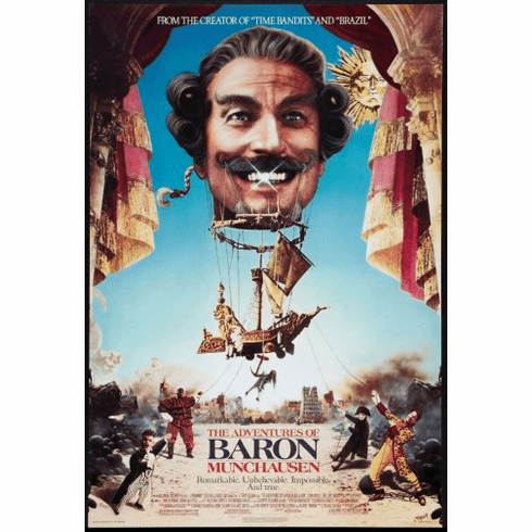 Baron Munchausen Movie Poster 24inx36in