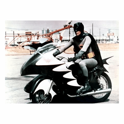 Batman Batcycle 11x17 Mini Poster